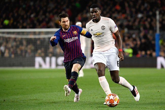 Messi y Paul Pogba