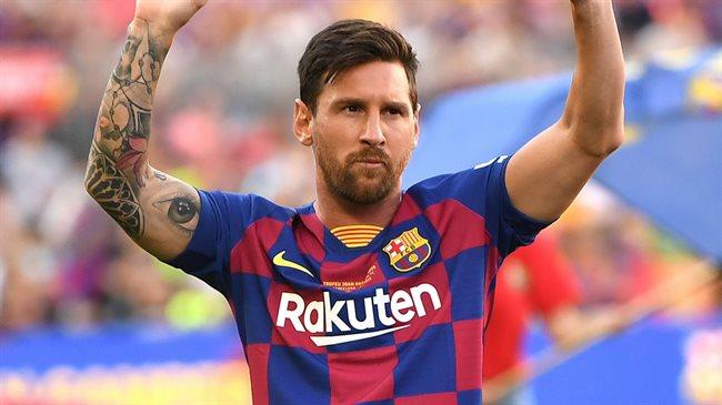 Leo Messi, con el Barça