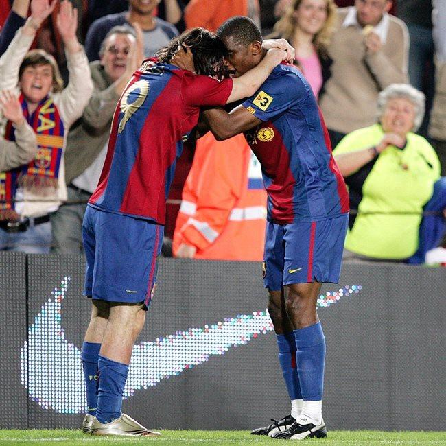 Messi y Eto'o