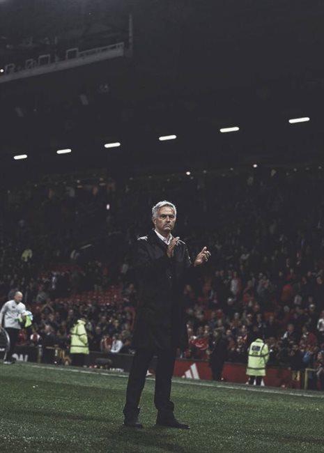 José Mourinho, en el United