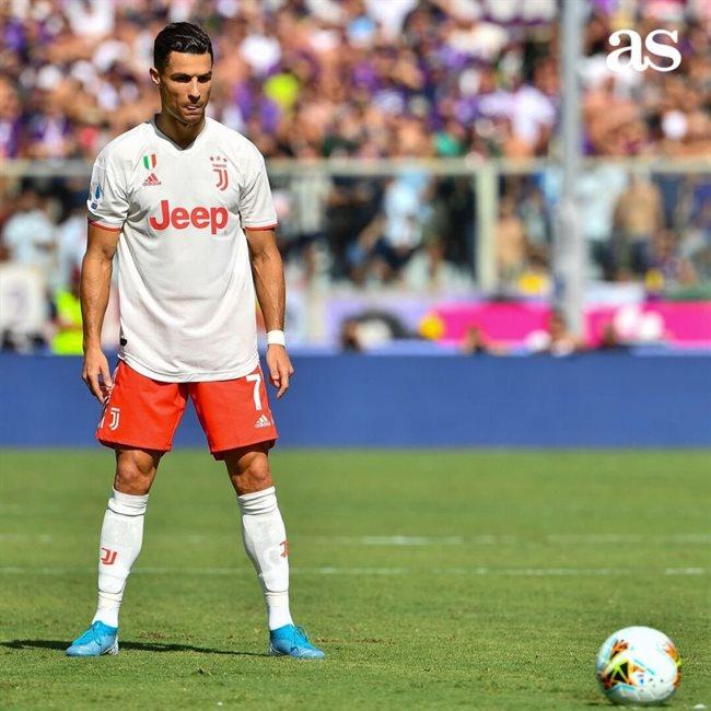 Cristiano Ronaldo, con la Juve
