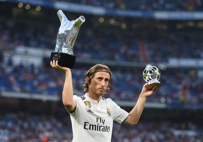 Luka Modric, mejor jugador del UCL