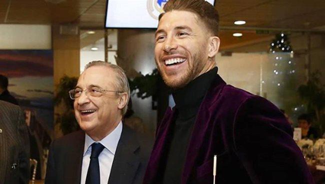 Florentino y Sergio Ramos