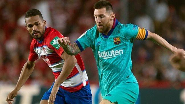 Messi en Granada
