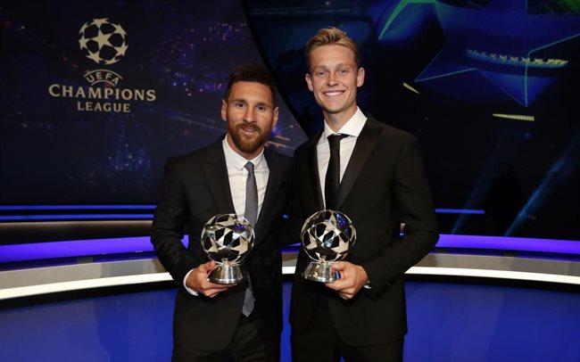 Messi y De Jong