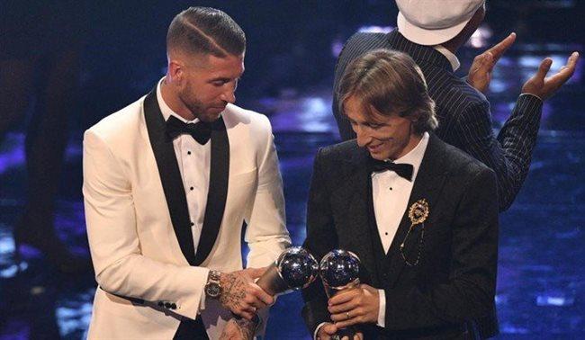 Ramos y Modric