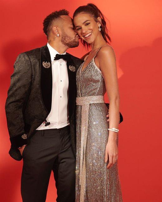 Neymar y Bruna