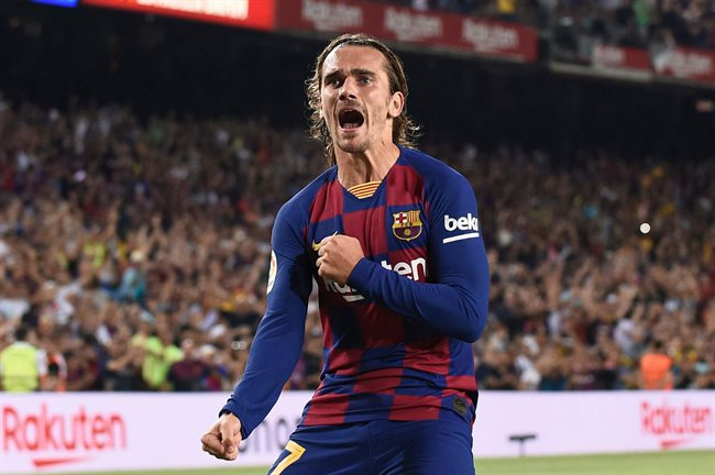 Griezmann, en el Barça