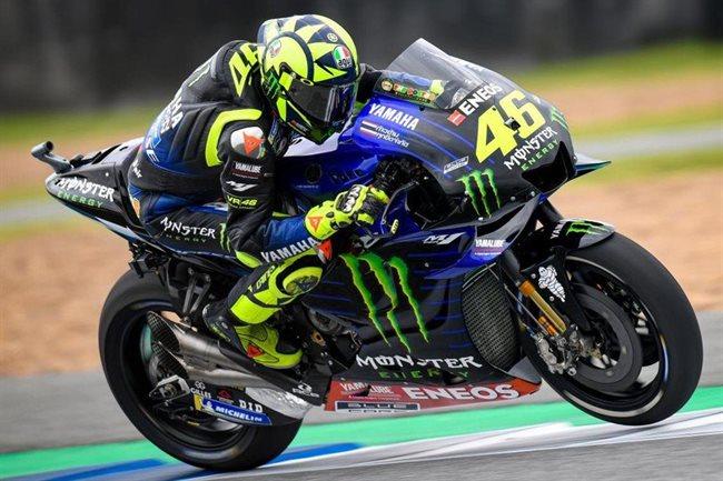 Rossi, en carrera