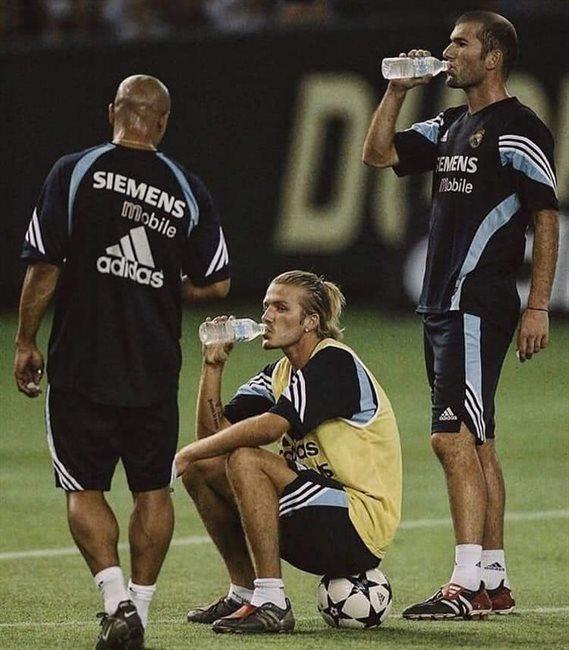 Roberto Carlos, Beckham y Zidane