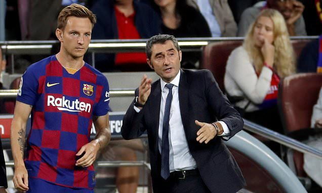 Rakitic y Valverde