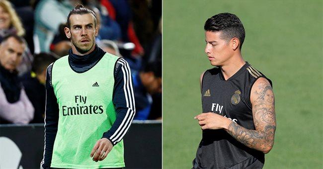 Gareth Bale y James Rodríguez