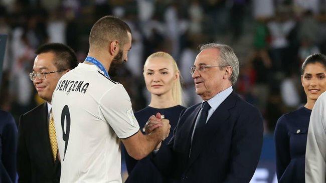 Benzema y Florentino