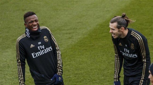Vinicius Jr y Gareth Bale