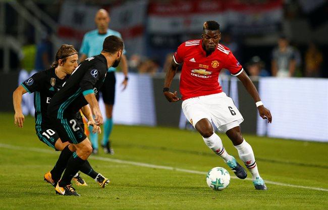 Paul Pogba contra el Real Madrid