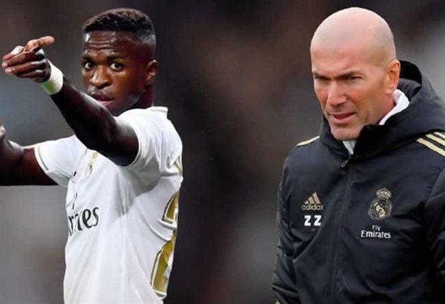 Vinicius Jr y Zidane