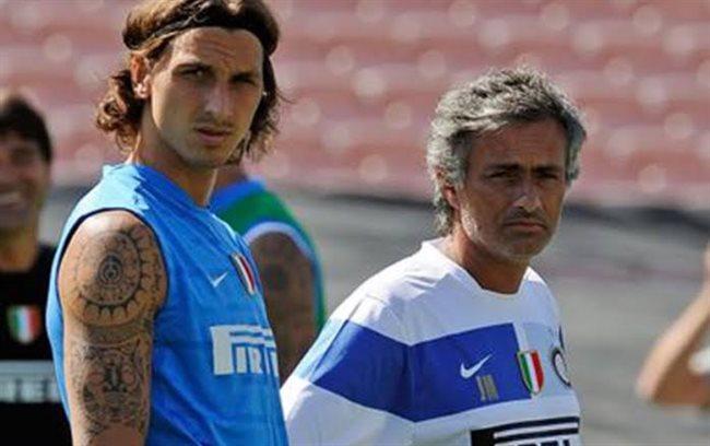 Ibrahimovic y Mourinho