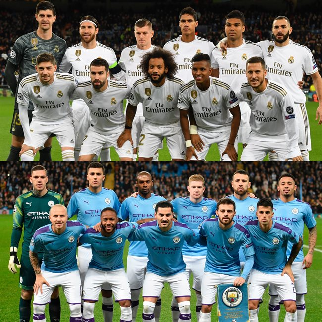 Madrid y Manchester City