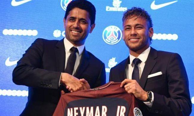 Al Khelaifi y Neymar