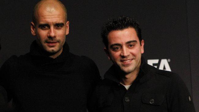 Pep y Xavi