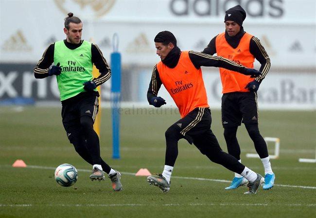 Bale, James y Mariano