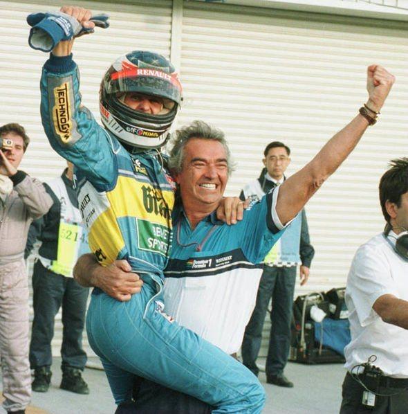 Schumacher y Briatore