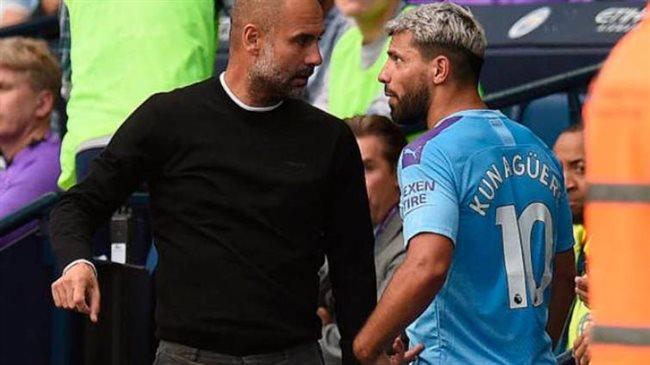 Guardiola y Agüero