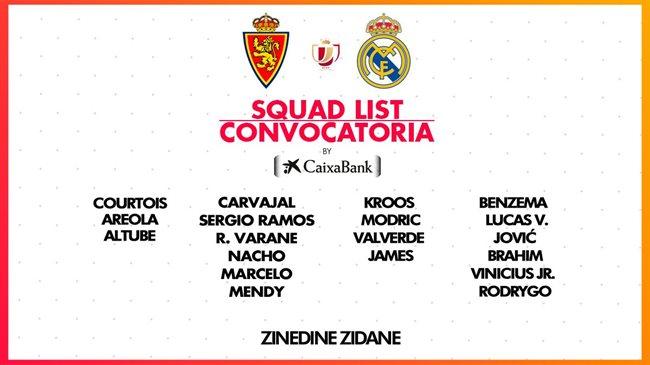 Zaragoza Real Madrid