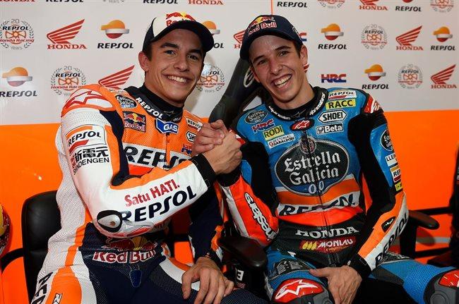 Marc y Álex Márquez