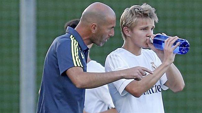Zidane y Odegaard