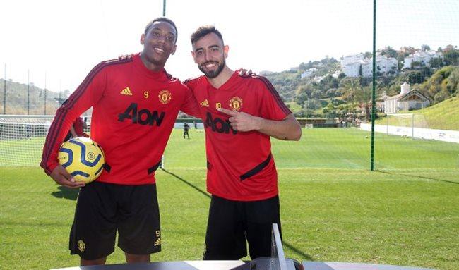 Martial y Fernandes