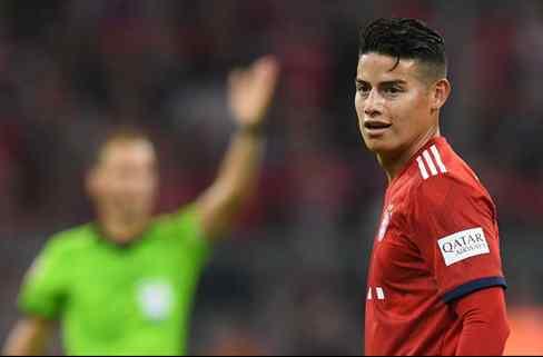 James Rodríguez pone fecha de caducidad a su estancia en el Bayern de Múnich