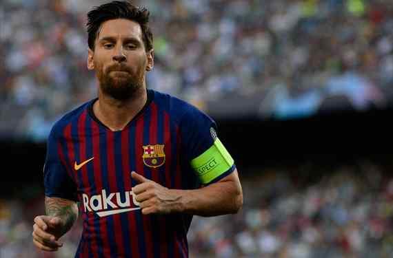 Messi y la lista del '9' para reemplazar a Luis Suárez: los planes del Barça