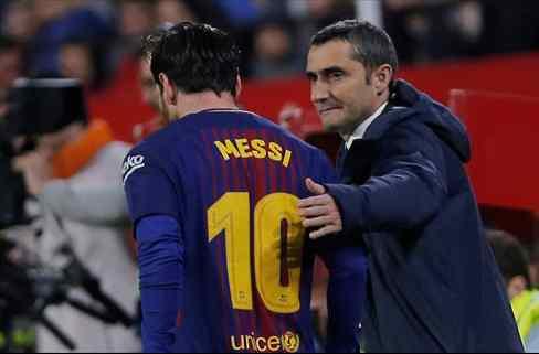 La bronca de Messi que dejó tocado a Valverde al descanso (y no sirvió para nada)