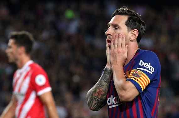 Que no juegue más: Messi explota contra un crack del Barça tras el empate ante el Girona