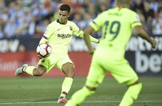 Coutinho avisa: está en la calle (y es un titular del Barça)