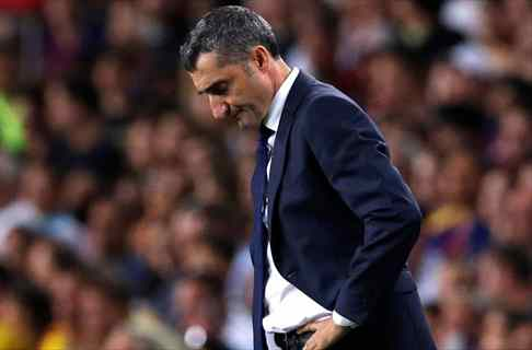 Valverde castiga a uno de los cracks del Barça