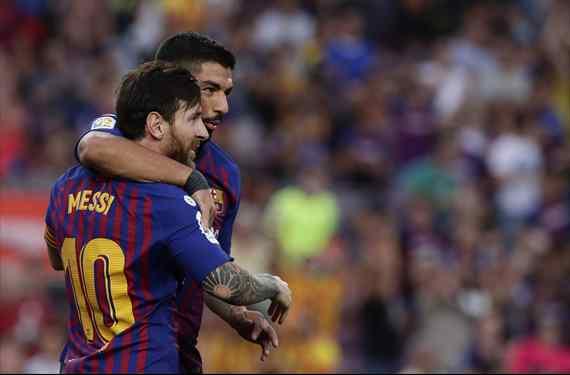 Messi revienta un fichaje en el Barça: no lo quiere (y Luis Suárez tampoco)