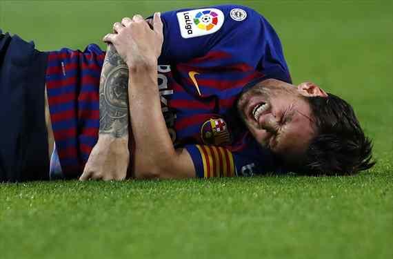 Calabazas a Messi. Y a Florentino Pérez. El galáctico que niega a Barça y Real Madrid