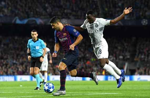 Luis Suárez suelta la bomba en el Barça - Inter. Y Messi ya lo sabe (y hay fichaje)