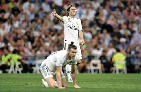 Gareth Bale lo sabe. Y Modric también (el lío más feo del Real Madrid estalla en el Clásico)