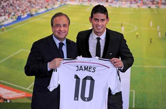 El crack colombiano que llama a Florentino para jugar en el Real Madrid (y no es James Rodríguez)