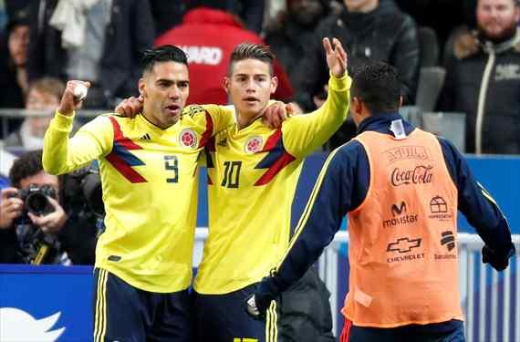 Colombia negocia con su nuevo seleccionador (y James Rodríguez y Falcao dan luz verde)