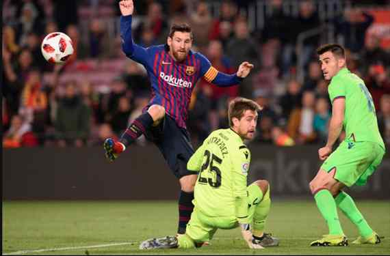 La bomba bestial de Messi tras el Levante-Barça que incendia el Real Madrid (y llega a Florentino)