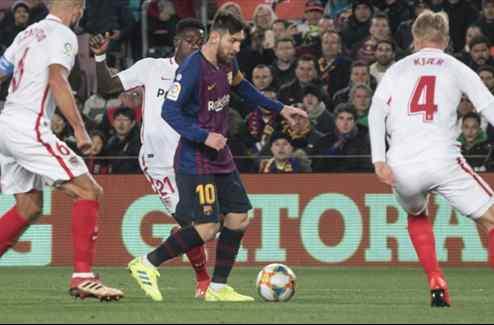 Messi asusta al Real Madrid y a Florentino Pérez con una bomba al final del Barça-Sevilla