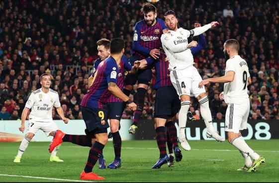Messi tapa un escándalo bestial en el Clásico que deja alucinados a Vinicius, Ramos y Lucas Vázquez