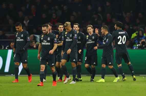Florentino Pérez corta tres cabezas (y son titulares) al final del Ajax-Real Madrid