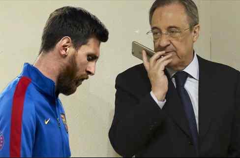 Niega a Messi (y al Barça). Y también pasa de Florentino Pérez: renovación galáctica
