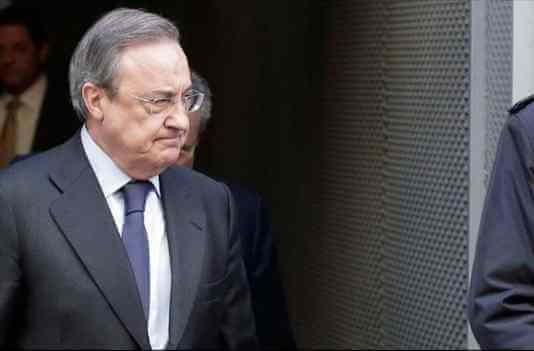 La cena secreta de Florentino Pérez en Madrid con una estrella que termina con drama