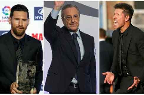 Florentino Pérez, Cholo Simeone y Leo Messi pelean por un nuevo crack (y elige al Barça)